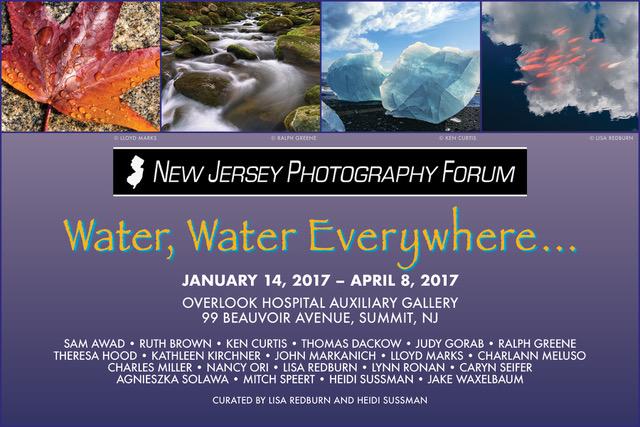 WaterWaterEverywhere 2016 Postcard Planes Trains Autos Flyer